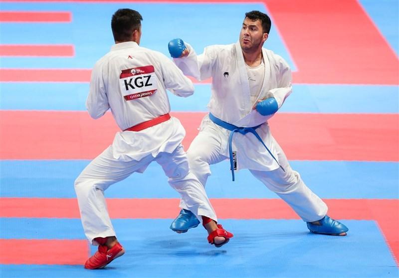 لیگ جهانی کاراته وان برلین، گنج زاده فینالیست شد، حیدری حذف شد