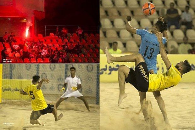پارس جنوبی بوشهر مقابل منطقه آزاد چابهار به پیروزی رسید
