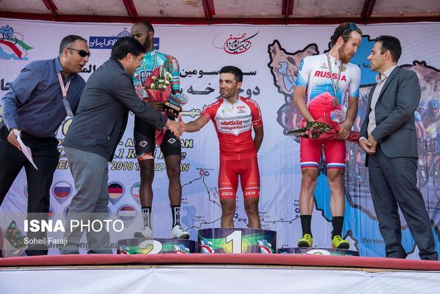 قهرمان مرحله نخست تور ایران - آذربایجان: در مرحله دوم برای پیراهن طلایی یا امتیازی رکاب می زنم