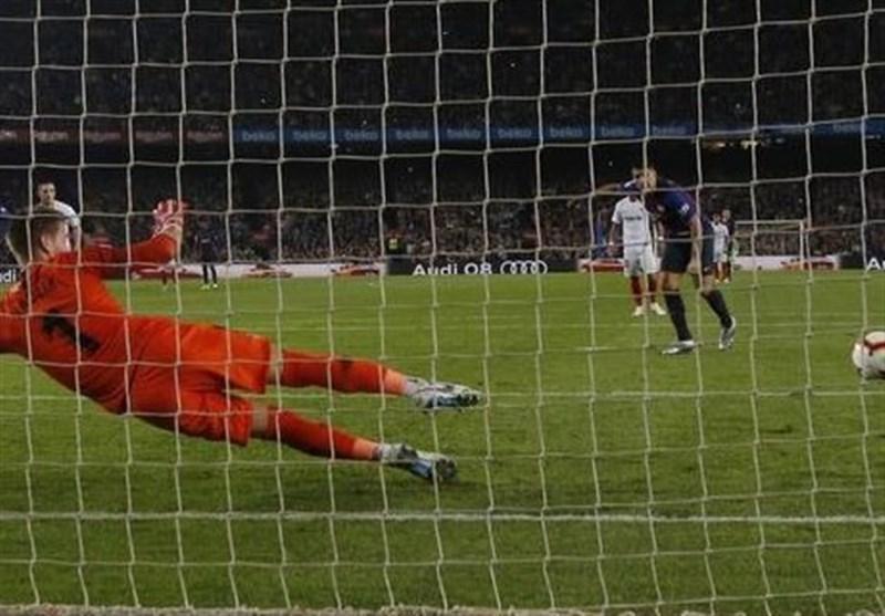 فوتبال دنیا، برتری قاطعانه و صدرنشینی بارسلونا در شب مصدومیت مسی