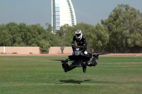 موتورسیکلت پرنده 2019 به بازار می آید