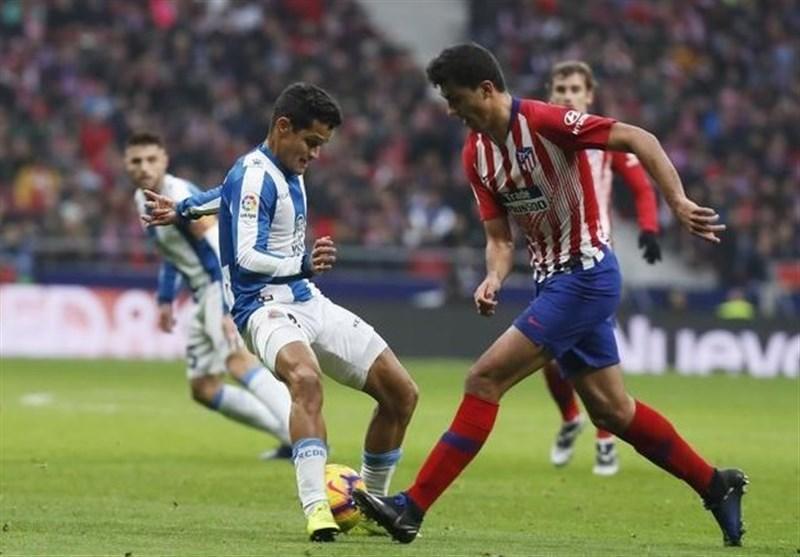 اتلتیکومادرید با برتری خفیف هم امتیاز بارسلونا شد