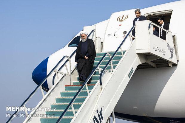 سفر رئیس جمهور به خوزستان بدون حضور رسانه ها خواهد بود