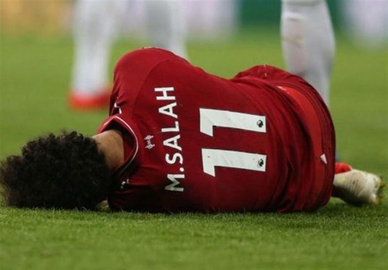 رسانه مصری: صلاح به بازی برگشت مقابل بارسلونا نمی رسد