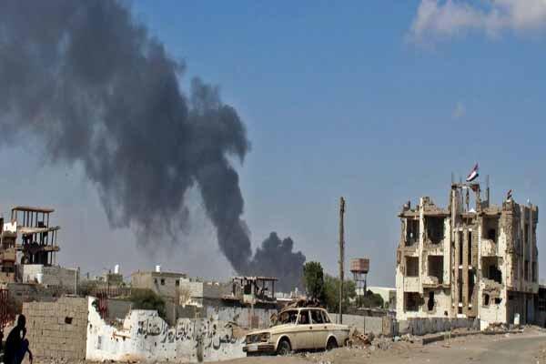 سقوط کاخ معاشیق در جنوب یمن بدست نیروهای وابسته به امارات