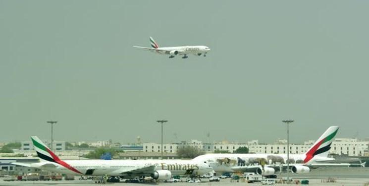 اختلال دردو پرواز فرودگاه دبی به دلیل احتمال وجود پهپاد