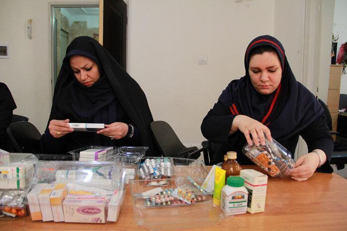 جمع آوری دارو برای خانواده های نیازمند