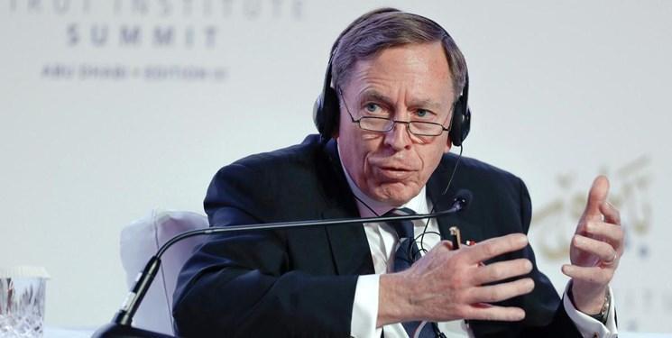 ژنرال پترائوس: خروج از سوریه باعث بهره برداری دشمنان آمریکا می گردد
