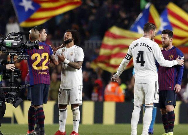 احتمال تغییر میزبان ال کلاسیکو به خاطر وضعیت متشنج بارسلونا