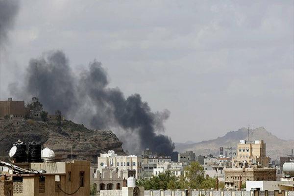 بمباران مناطق مسکونی در صعده یمن توسط جنگنده های سعودی