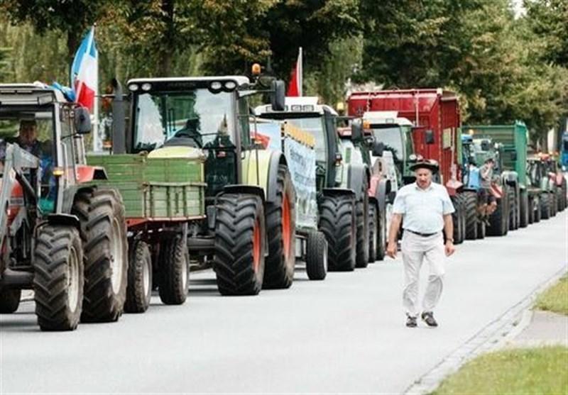 اعتراضات گسترده کشاورزان آلمانی علیه سیاست های دولت