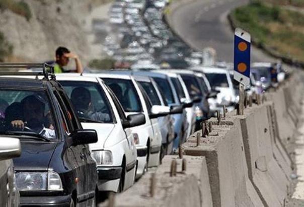 ترافیک سنگین در مرزن آباد - کرج، کاهش 3.1 درصدی تردد