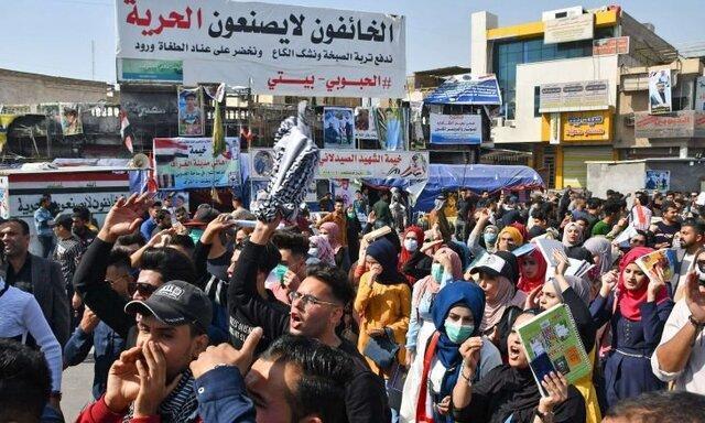 30 کشته و زخمی در درگیری معترضان عراقی با نیروهای امنیتی