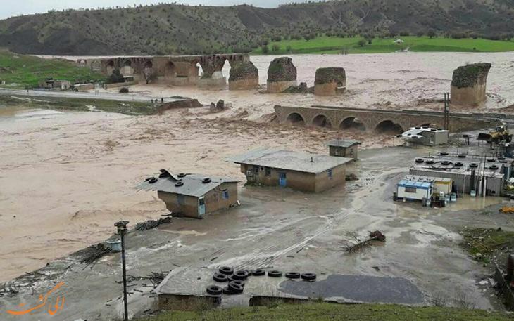 سیل 300 میلیارد تومان به بناهای تاریخی کشور آسیب زده است!