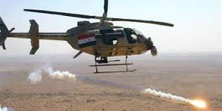 ارتش عراق 3 خودروی داعش و مخفیگاه آنها را نزدیک مرز با سوریه منهدم کرد