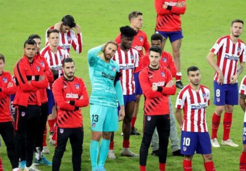 شناسایی 2 فرد مبتلا به کرونا در اردوی اتلتیکومادرید در آستانه بازگشت به لیگ قهرمانان اروپا