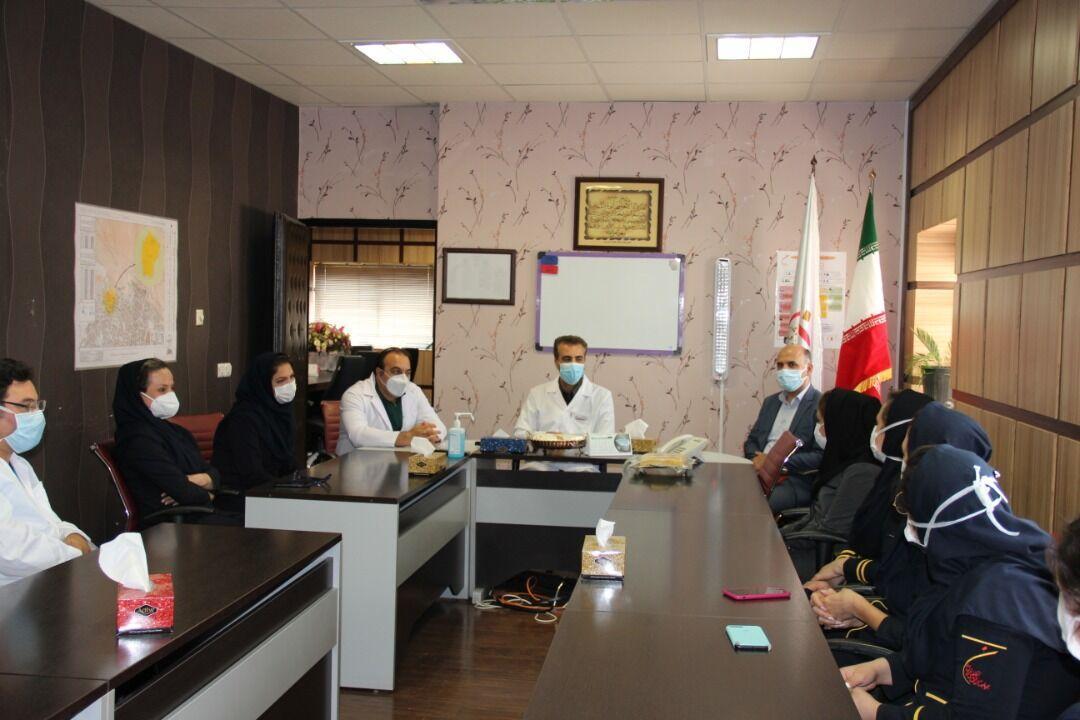 خبرنگاران تقدیر از پزشکان بیمارستان فوق تخصصی نور افشار