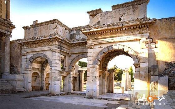 شهر باستانی افه سوس ازمیر؛از عجایب هفتگانه دنیا، عکس